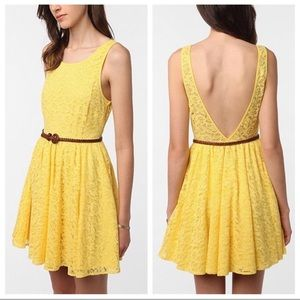 Urban Outfitters Pins and Needles Lace Dress EUC